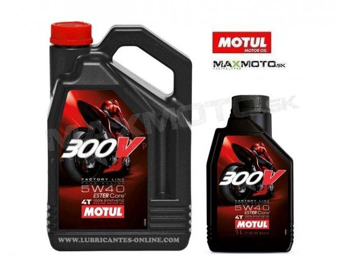 Olej MOTUL 300V 5W40 FACTORY LINE ROAD