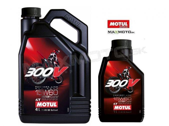 Olej MOTUL 300V 15W60 FACTORY LINE OFFROAD