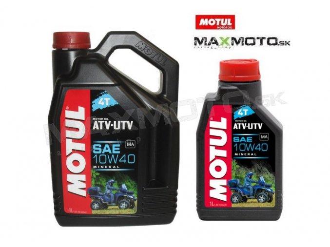Olej MOTUL ATV-UTV QUAD 4T 10W40