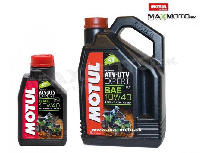 Olej MOTUL ATV-UTV EXPERT 10W40