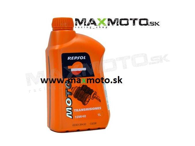 Prevodový olej REPSOL Moto Transmisiones 10W40, 1L