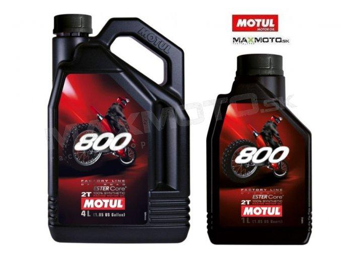 Olej MOTUL 800 2T OFFROAD