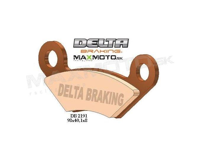 Brzdové obloženie ATV DELTA DB2191QD-D