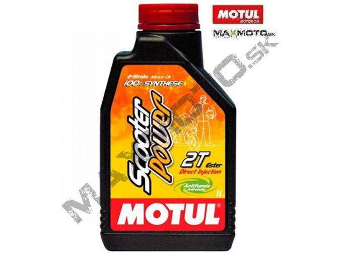 Olej MOTUL SCOOTER POWER 2T 1L