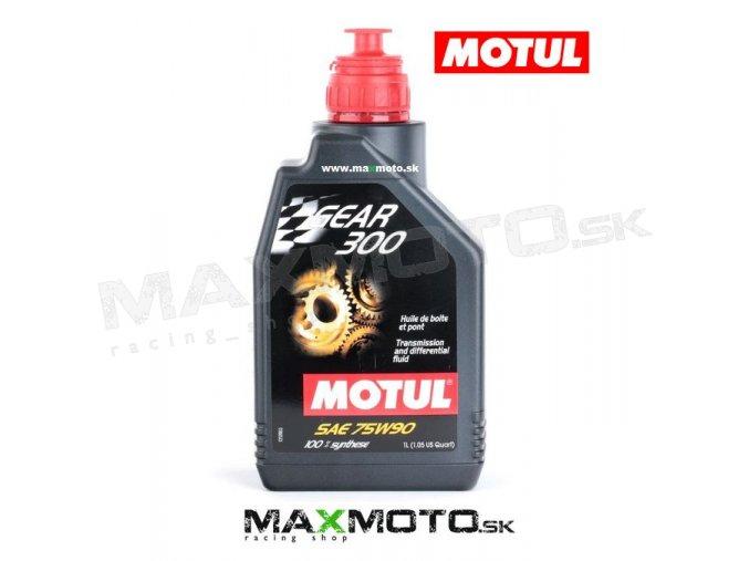 Prevodový olej MOTUL GEAR 300 75W90 1L