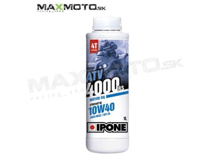 Motorovy olej IPONE ATV 4000RS 10W40 1L IP810