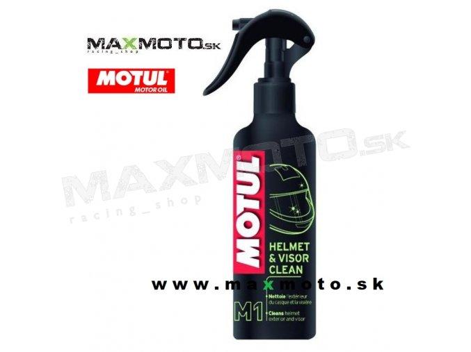 Cistic prilby a plexi MOTUL M1 HELMET and VISOR CLEAN 250ml MU102992