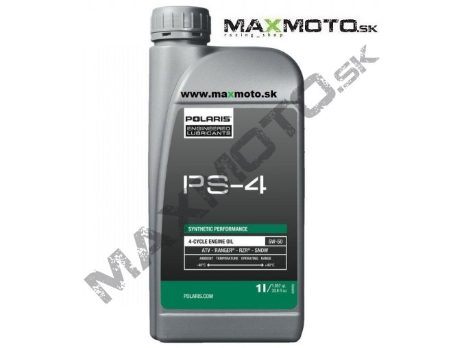 olej polaris ps 4 plus 5w50 2876244 502129 500862