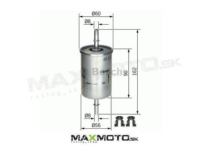 Palivový filter POLARIS Sportsman, 2520464, BOSCH 0 450 905 273/ 0 450 905 316