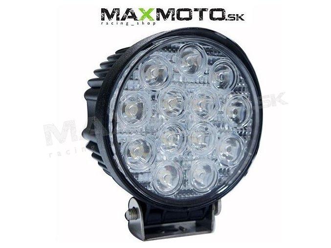 LED svetlo okrúhle 13x3W, 116mm, 2000lm
