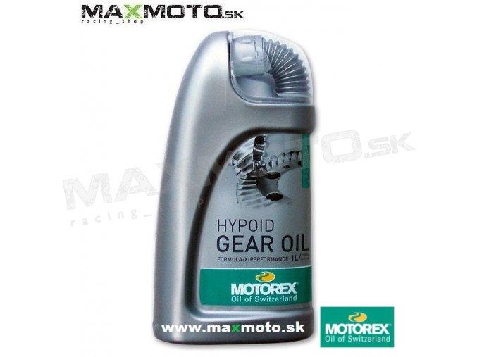 Olej MOTOREX HYPOID GEAR OIL 80W90 1L M045311 MT3