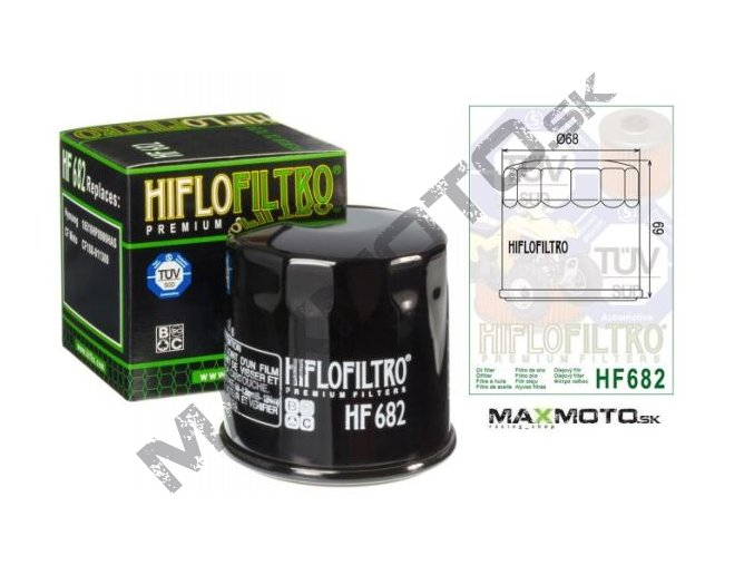 Olejový filter CF MOTO Gladiator 510/530/X5/X6/Z6/UTV530-630, HYOSUNG, GOES, LINHAI 500,550, 35223, 0180-011300-0B00, HF682