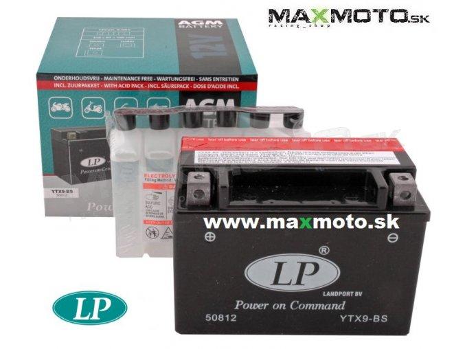 Bateria LP YTX9 BS 12V 8Ah 152x88x106mm