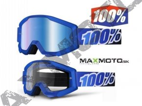 Okuliare 100% STRATA Blue Lagoon