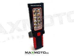 Prenosne LED svietidlo 10+4 LED 3 x AA 1.5V 1