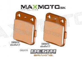 Brzdové obloženie ARCTIC CAT DVX 400, KAWASAKI KSF, KFX400, zadné, DELTA