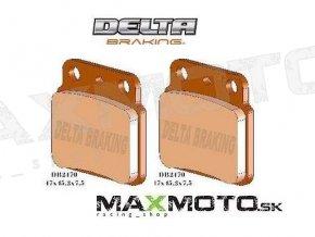 Brzdové obloženie SUZUKI LTR 450, LTZ400 a iné, zadné, DELTA