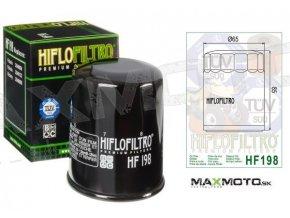 Olejový filter POLARIS Sportsman 600/700/800, Ranger RZR, 2540086, 2540122, HF198