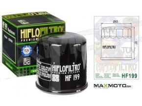 Olejový filter POLARIS Sportsman 500/550/570/850/1000, Scrambler 1000, Ranger 900, Hawkeye 400, 2520799, 3089996, HF199