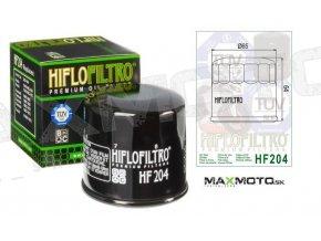 Olejový filter ARCTIC CAT 600/650, SUZUKI LT-V700 Twin Peaks, HF204