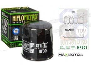 Olejový filter KAWASAKI Prairie 300/400, Bayou 400, Mule HF303