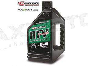 Motorový olej pre štvorkolky MAXIMA ATV PREMIUM 10W40 4T 1L