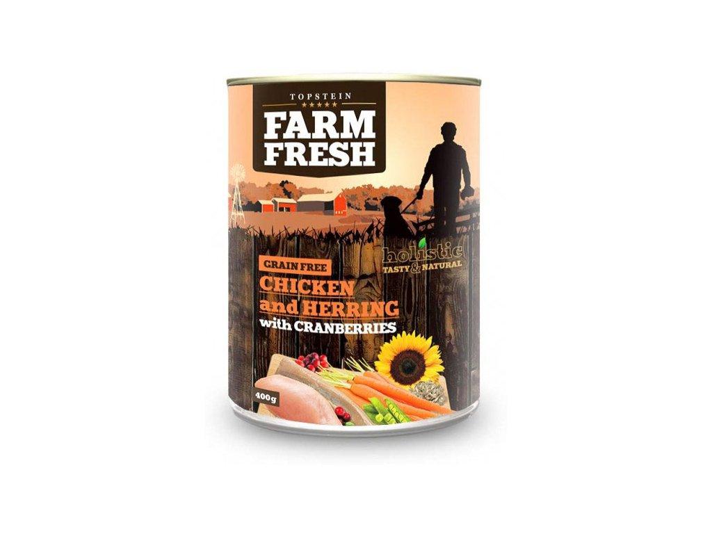 farm fresh chicken herring