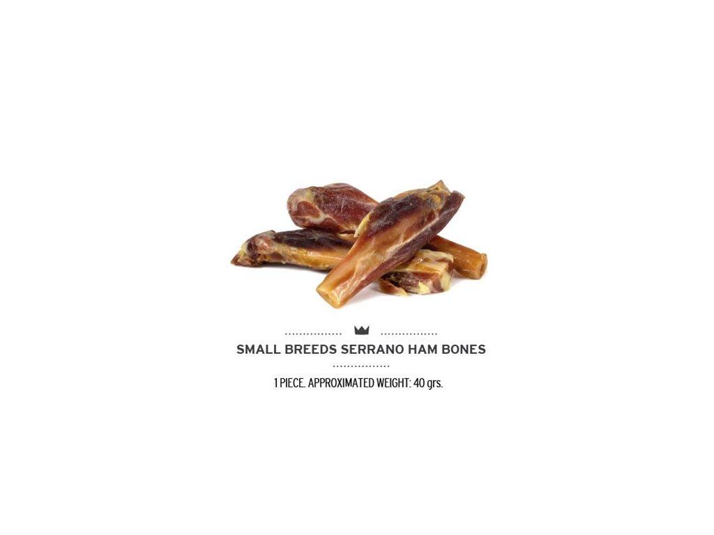 small breeds serrano ham bones