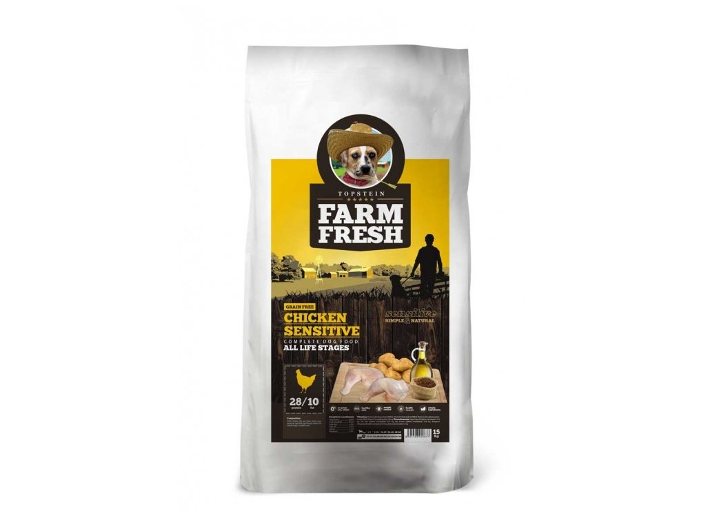 farm fresh chicken sensitive