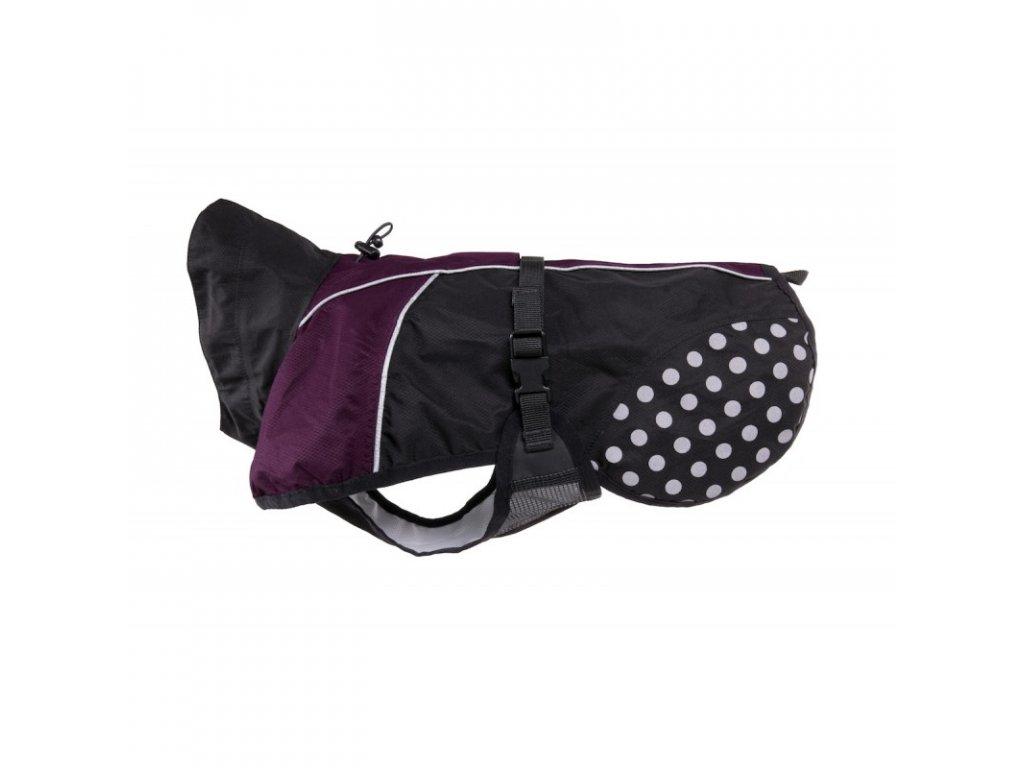 Non-stop Dogwear Beta Pro pláštěnka fialová