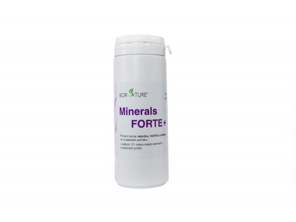 Bornature MINERALS FORTE + 100 cpsl