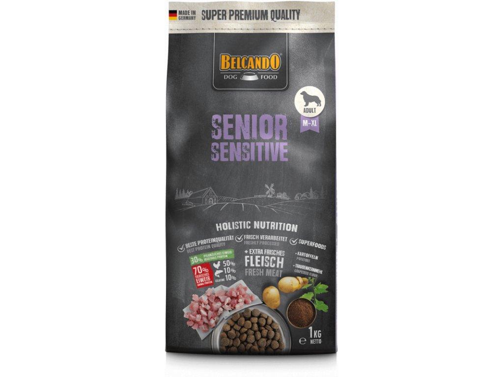 Belcando Senior Sensitive 1kg front 800x800