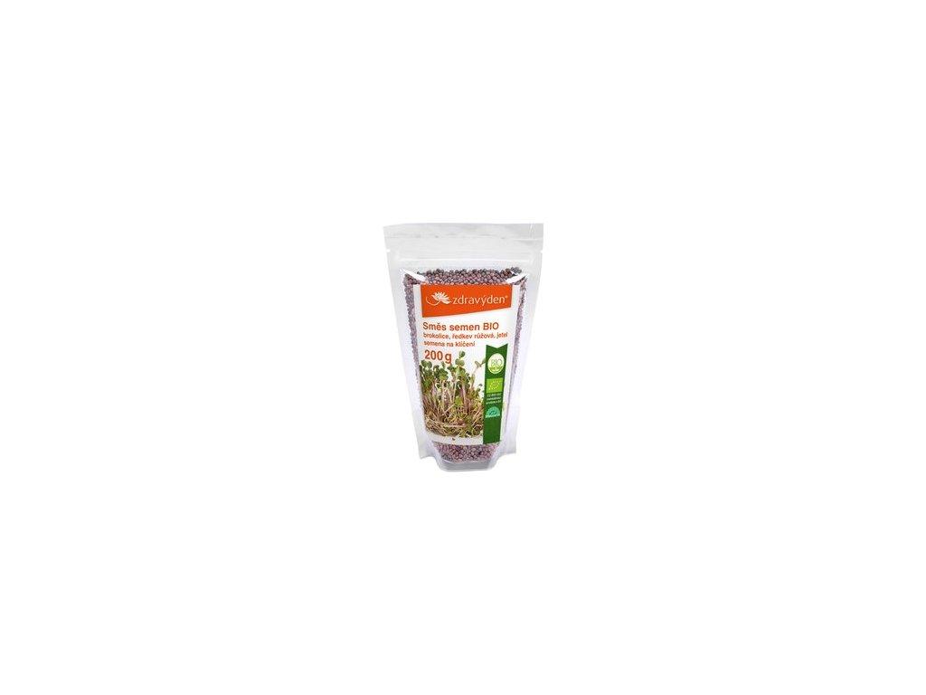 smes semen na kliceni 2 bio brokolice redkev ruzova jetel 200g.jpg 207x317 q85 subsampling 2
