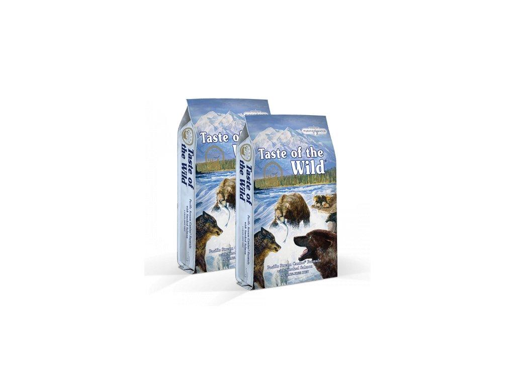 dvojbaleni tow pacific stream canine 13kg