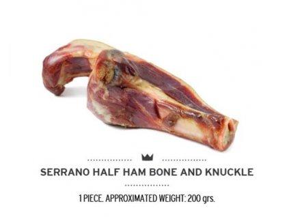 serrano half ham bone and knuckle