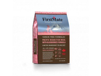 pacific ocean fish meal with blueberries formula 450
