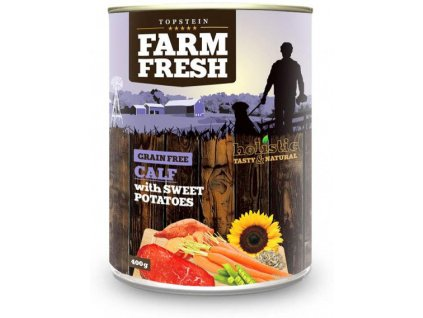 farm fresh calf sweet potato