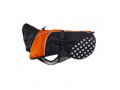 Non-stop Dogwear Beta Pro pláštěnka oranžová