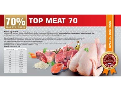 Bardog top meat 70