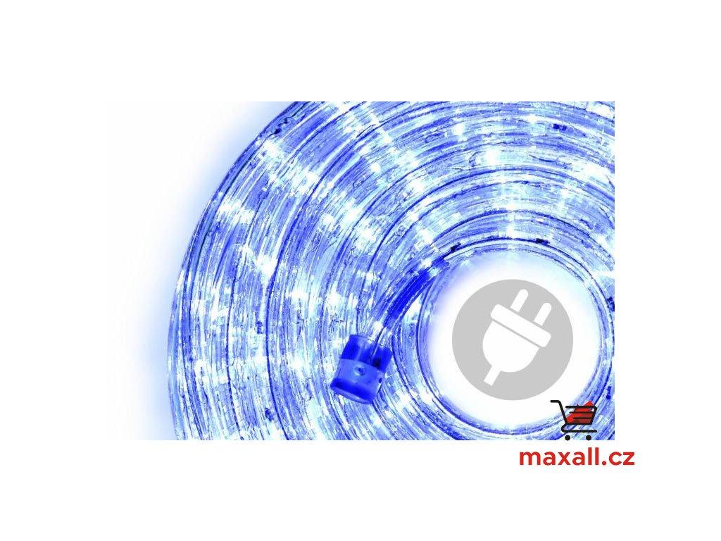 LED světelný kabel - 480 diod, 20 m, modrý