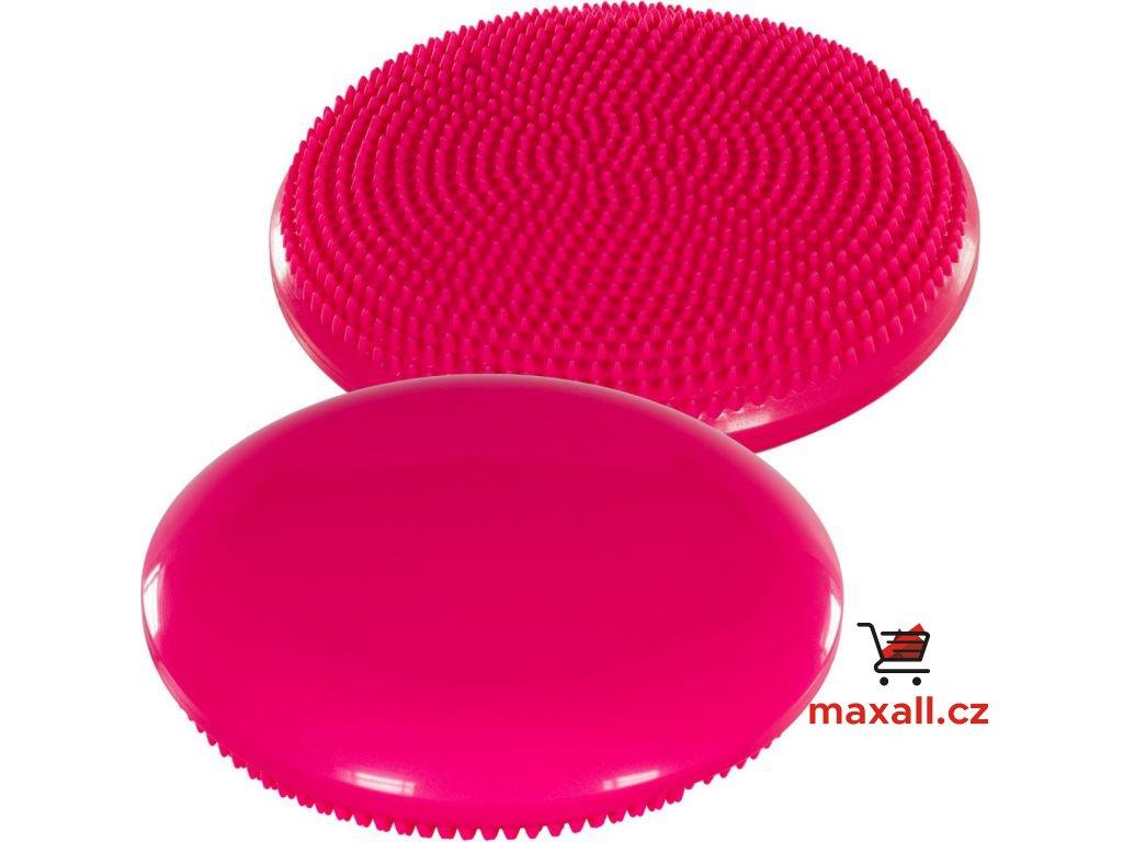 Balanční polštář na sezení MOVIT 33 cm - růžový