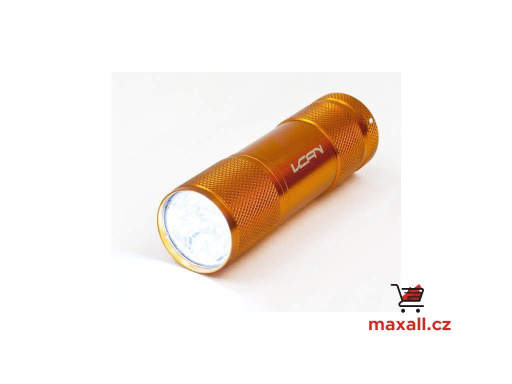 9 LED svítilna