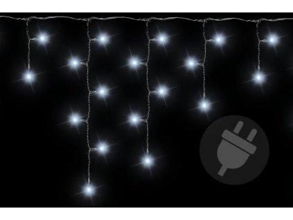 Vánoční světelný déšť - 5 m, 144 LED, studeně bílý