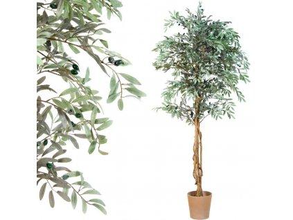 Umělý strom - olivovník - 190 cm