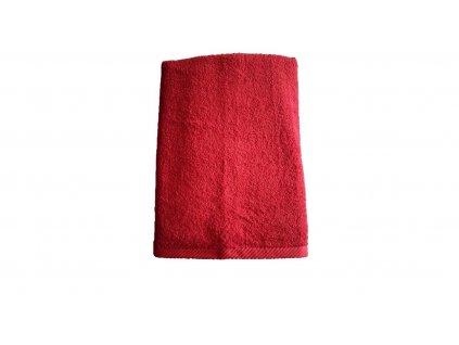 Ručník Unica - 50x100 červená