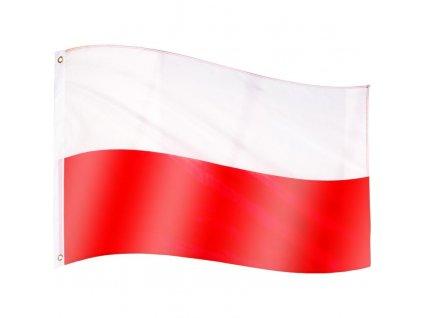 FLAGMASTER Vlajka Polsko, 120 x 80 cm