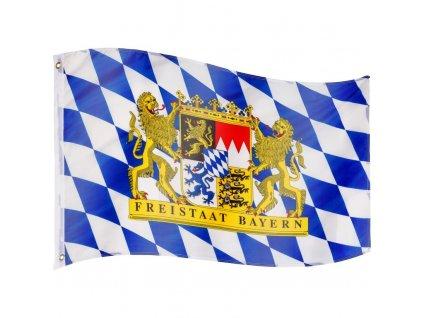 FLAGMASTER vlajka Bavorsko, 120 x 80 cm