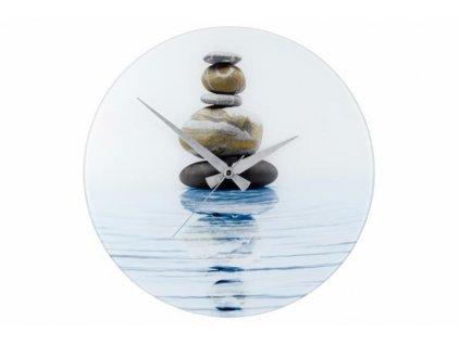 Nástěnné hodiny WENKO 37 cm - meditace