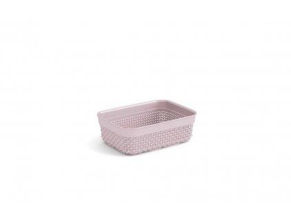 Plastový organizér FILO - růžový