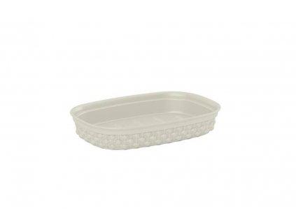 Miska na mýdlo FILO - krémová